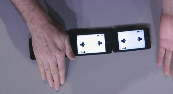 VIDEO - ΕΚΠΛΗΚΤΙΚΟ ΤΑΧΥΔΑΚΤΥΛΟΥΡΓΙΚΟ ΜΕ 3 ipods