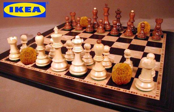 Κυκλοφόρησε το νέο σκάκι από την ΙΚΕΑ. Προσοχή στα ΑΛΟΓΑ!